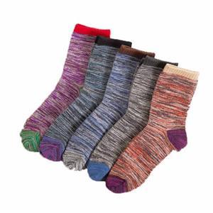 Этнический стиль Личность Harajuku Чистая шерсть Tide носки