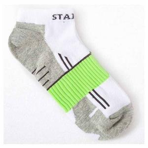 Arch Straps Absorbent Breathable Combed Cotton Men Boat Socks