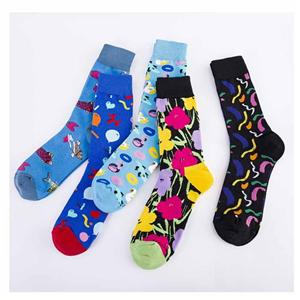 Fashion Creative Personality Balloon Flower Cartoon Unisex Socks