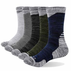 Outdoor Professional Sports Terry Bottom Hiking Climbing Men Socks