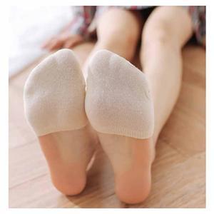 Higi-absorbent Anti-kadumas Simple Candy värvi Pool Palm Naised Sokid
