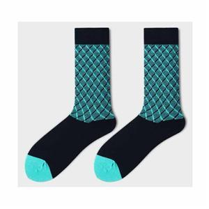 İngiliz Gentleman Basit Argyle Şık İş Çorap