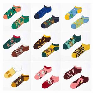 high -elastic Couple Fashion Creative Tide Brand ab Ankle Socks
