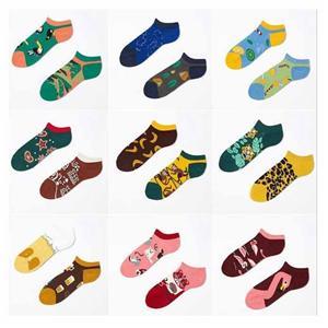 yüksek -elastic Çift Moda Yaratıcı Tide Marka ab Ayak bileği Çorap
