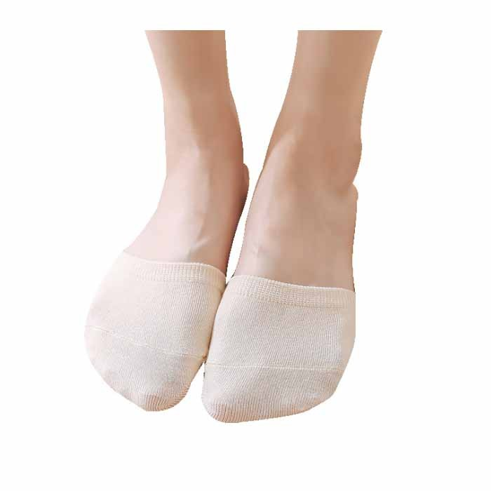 Sweat-absorbent Anti-shedding Simple Candy-colored Half Palm Women Socks