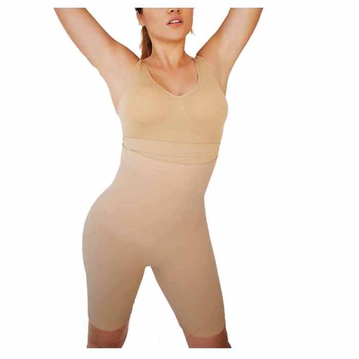 European Plus Size Sculpting High Waist Slimming Skinny Pants