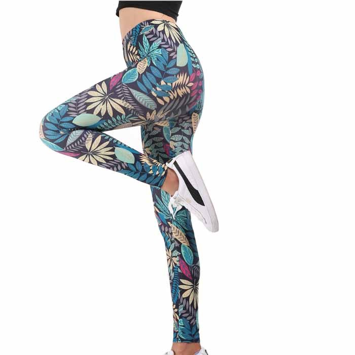 Personalized Printed Hips Graffiti Sports Yoga Women Tights
