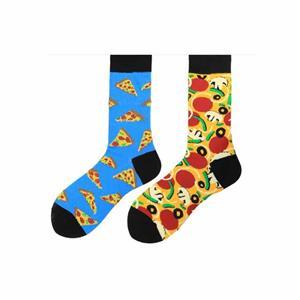 Творческий моды Красочные AB Асимметричные мужские носки Tide