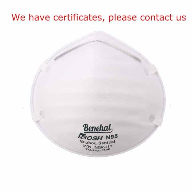 Streng kvalitetskontrol konkurrencedygtig pris 3 lag beskyttelse maske