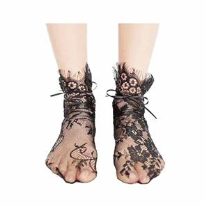 Fashion Hollow Out Retro Mesh Lace Bubble Bas