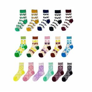 Stylish Breathable Colorful Striped Boho Beach Socks
