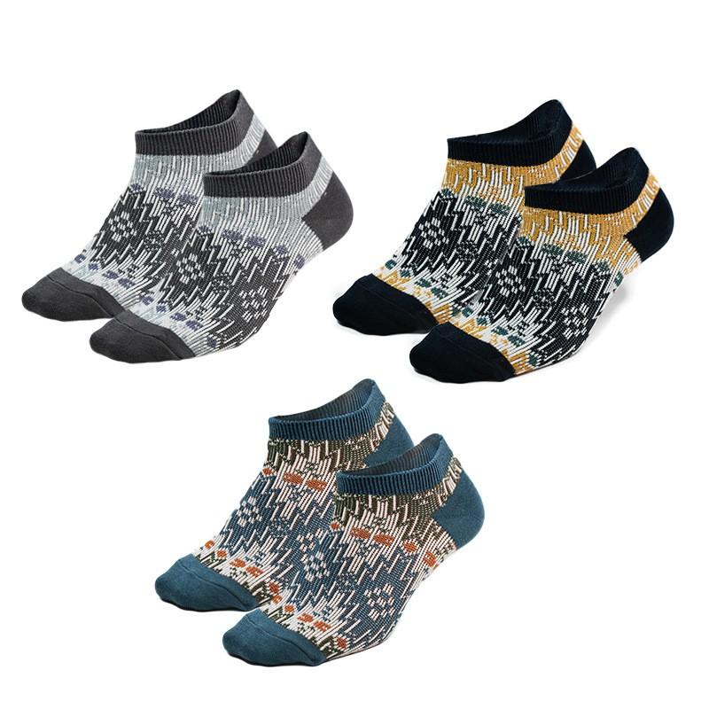 2020 Großhandel OEM Japanese Tide Double Needle Geometric Elementmen Männer athletische Socken