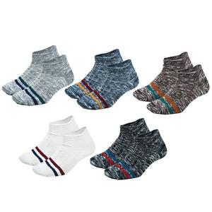 2020 Wholesale OEM Breathable Ethnic Striped Jacquard Knitted Breathable Vintage Men Socks