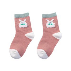 OEM Casual Custom Stylish Colorful Breathable autumn thick style children happy socks