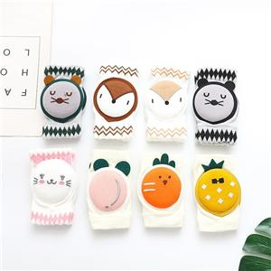 Creative Newborn Cartoon Animal Up-grade baby crawling socks toddler baby toddler knee brace