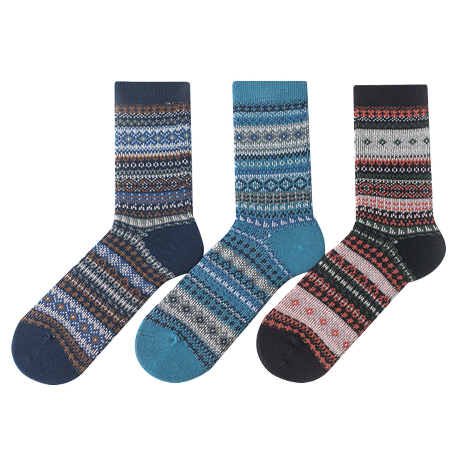 OEM Wholesale Trendy Custom Vintage British gentleman men Happy Athletic Cozy Socks