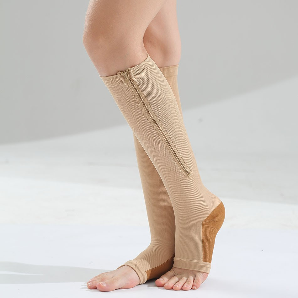 OEM Medical Barrel Zipper Elastic Sports Shaping Vein Compression Calf Stockings Manufacturers, OEM Medical Barrel Zipper Elastic Sports Shaping Vein Compression Calf Stockings Factory, Supply OEM Medical Barrel Zipper Elastic Sports Shaping Vein Compression Calf Stockings