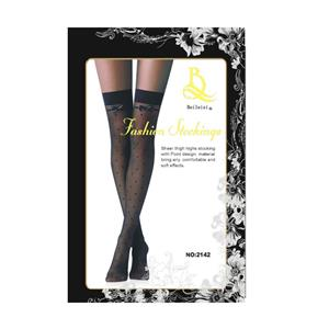 OEM Amazon High Quality Skinny Non-slip Wide Lace Over The Knee Sexy Charming Fishnet Stockings