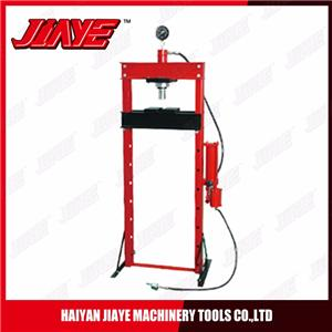 Hydraulic/Pneumatic Shop Press with Gauge