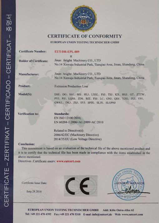 Client nous choisir pour notre certificat CE