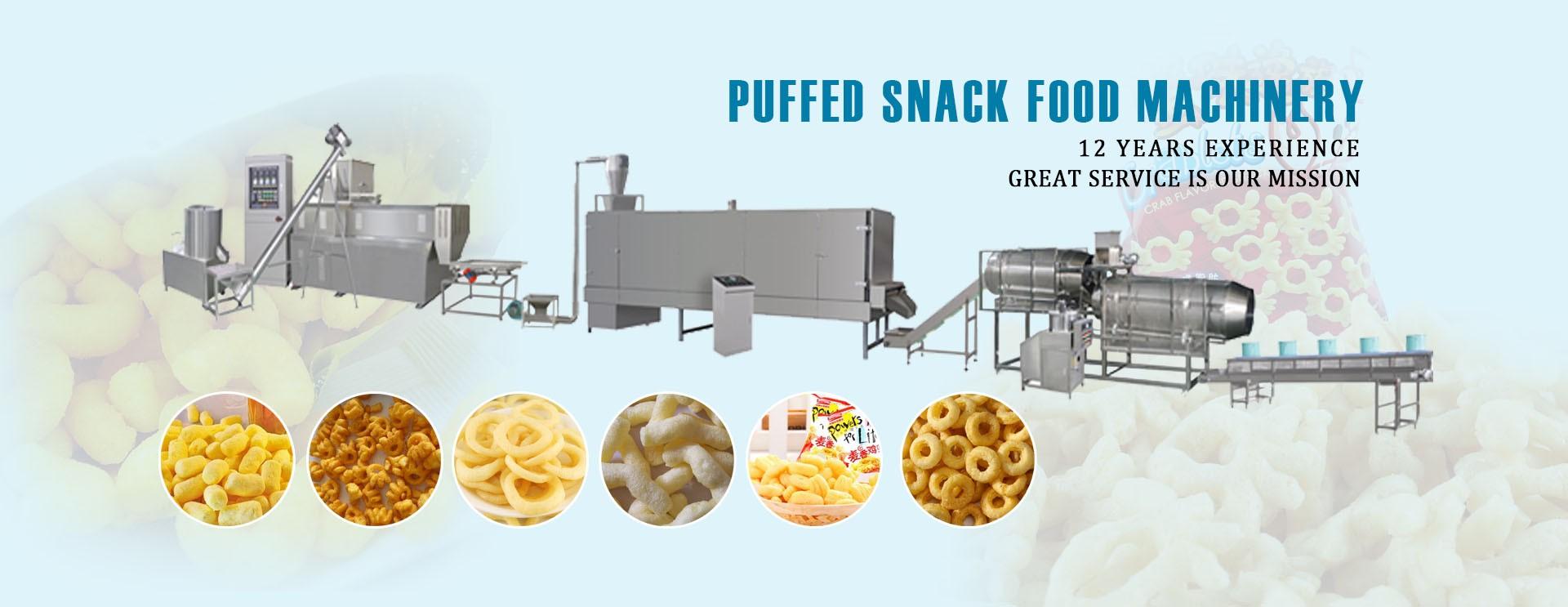 Ligne de production de snacks