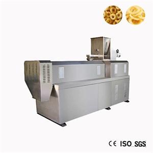 Small Corn Snack Food Extruder Making Machine