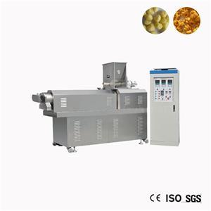 Wheat Corn Flour Snack Extruder Machine Processing