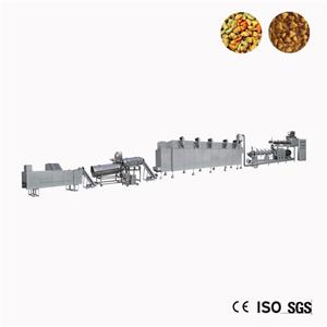 Chinese Small Dog Food Extruder Making Machine