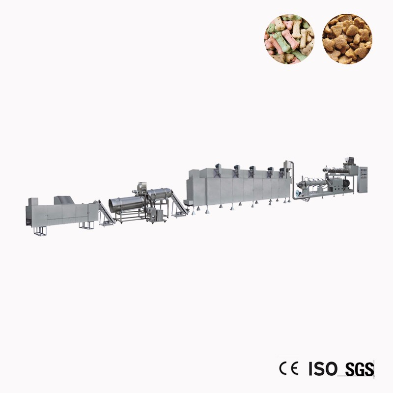 Kibble Dry Dog Food Making Machine Production Line