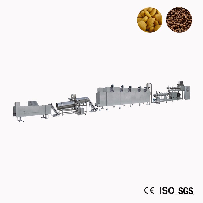 Equipment For Dry Pedigree Dog Food Machine