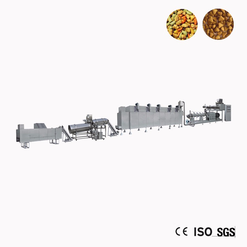 Small Dog Food Extruder Machine Processing Plant