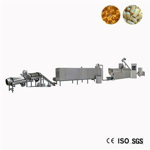 Puff Twist Snack Food Machinery Extruder
