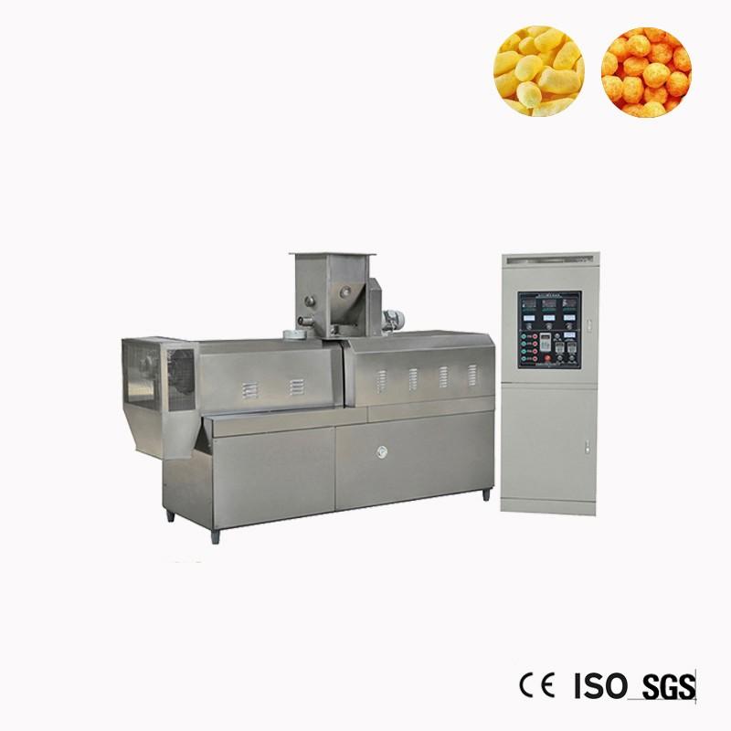 Puffed milho Snack extrusora máquina Preço