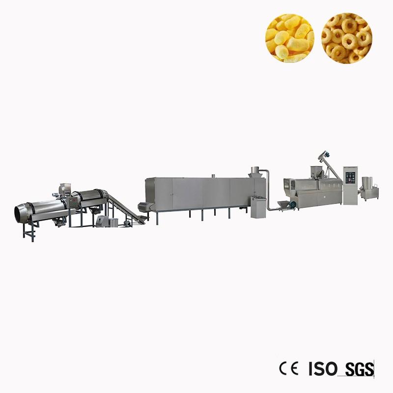 Usado Snack Inflando Food Processing Machine Extrusora