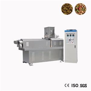 Wet Dog Food Palette Faire Extrudeuse machine