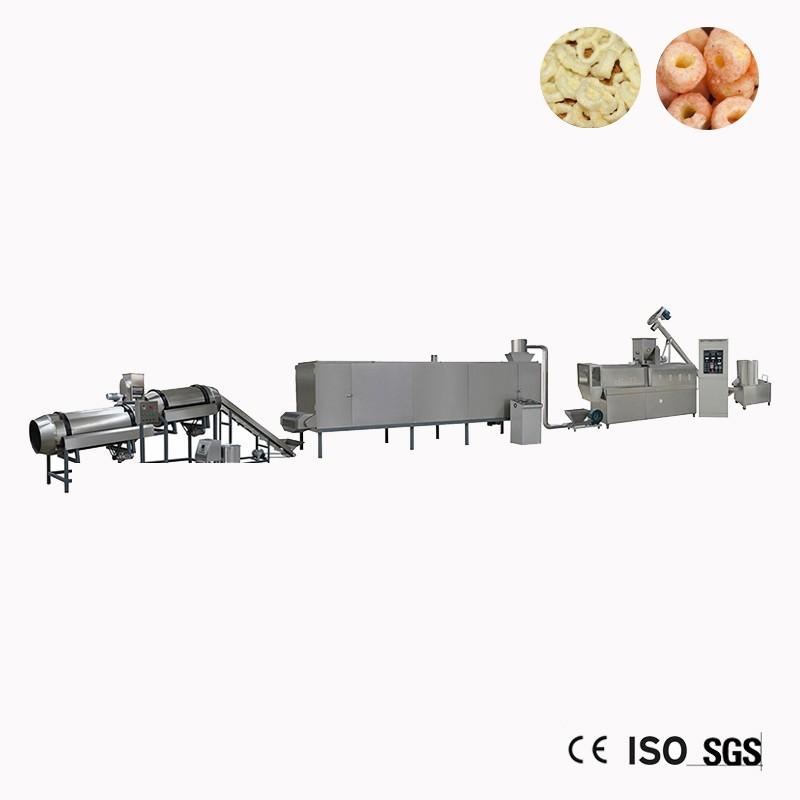 Puff-Mais-Snack Chips Maschine