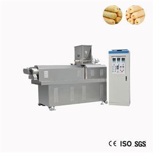 중국 작은 옥수수 퍼프 스낵 압출기 기계 가격