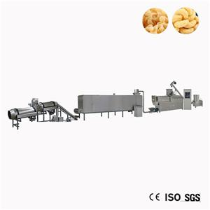 Corn Puff Snacks Rice Extruded Machine