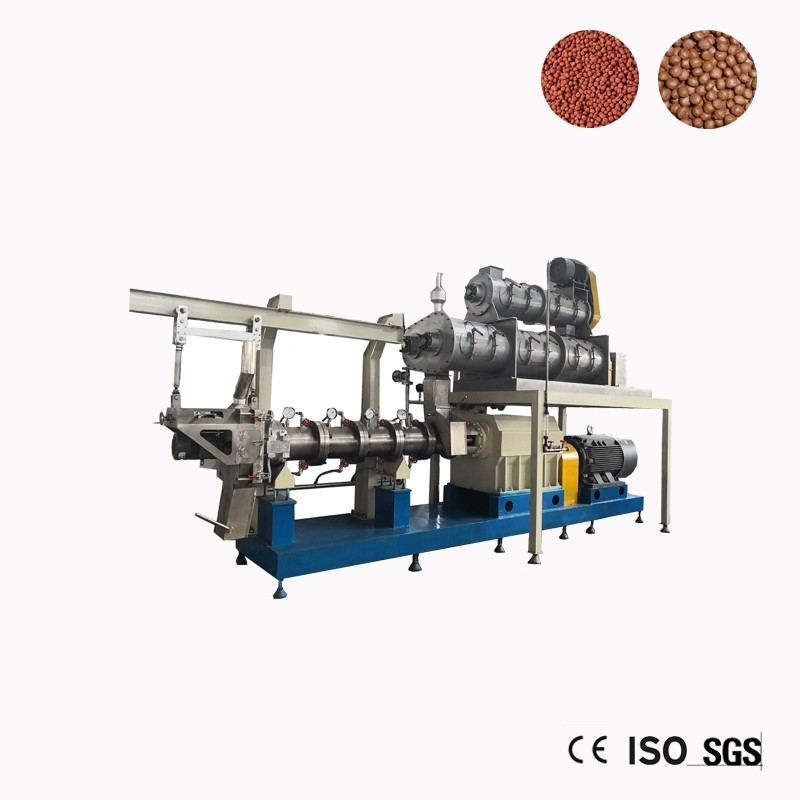 Dry Floating Fish Feed For Poultry Extruder Machine