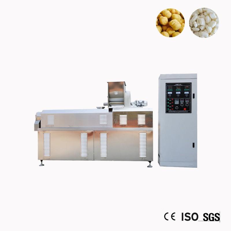 Extrusora de milho Puff arroz que faz a máquina