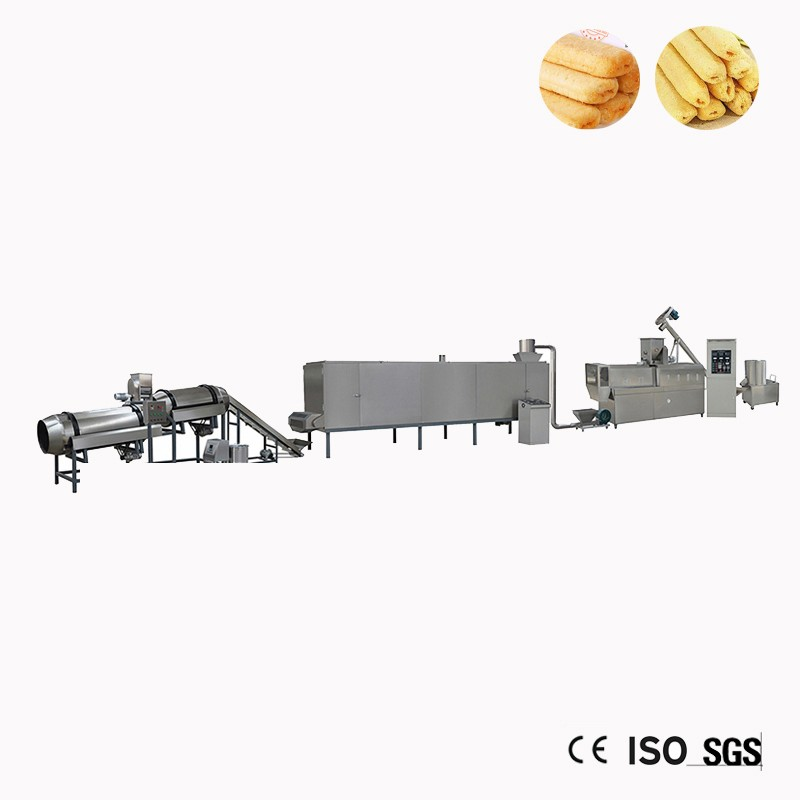 Corn Füllung Snacks Lebensmittel-Maschine Linie