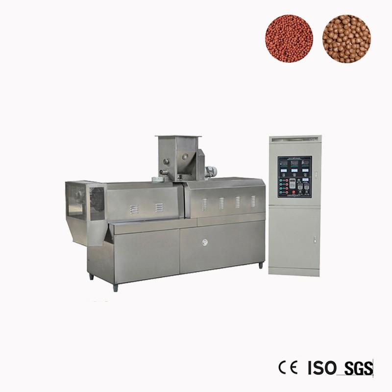 Fish Feed Pellet Mill Extruder Machine