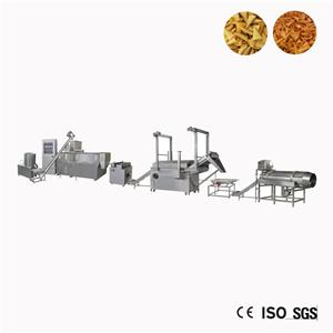 Automatic Rice Bugles Fried Snack Food Machine