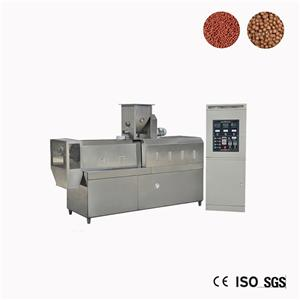 Small Extruder Floating Fish Feed Making Machine Japan