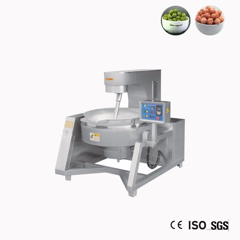 Máquina de produção de linha de produção de milho pipoca