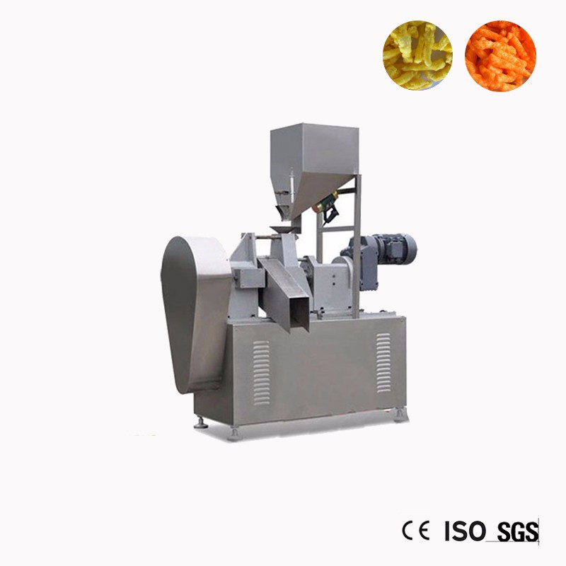 Raw Kurkure Snack Extruder Machine