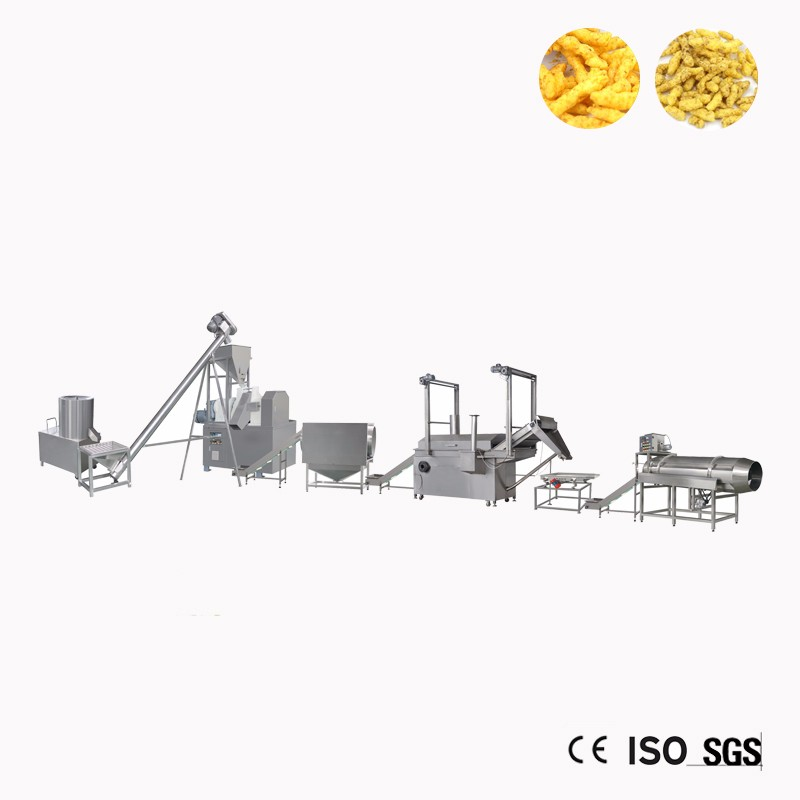 China Kurkure Chips Extruder Production Line