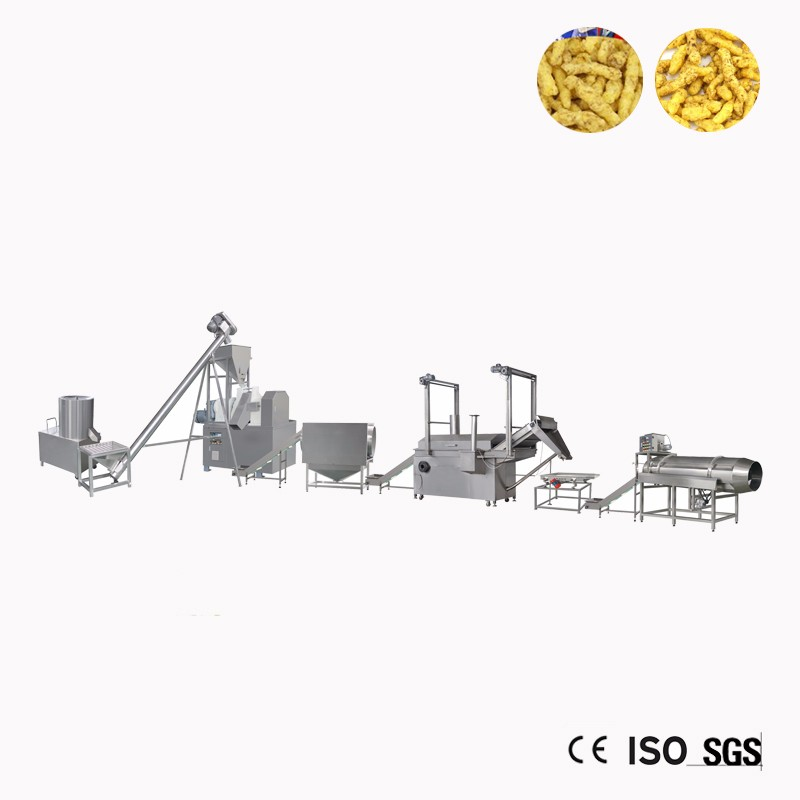 Kurkure Snacks Making Machine Processing Line India