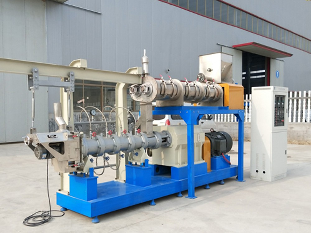 Wet type Twin screw feed extruder line 3-5tons per hour
