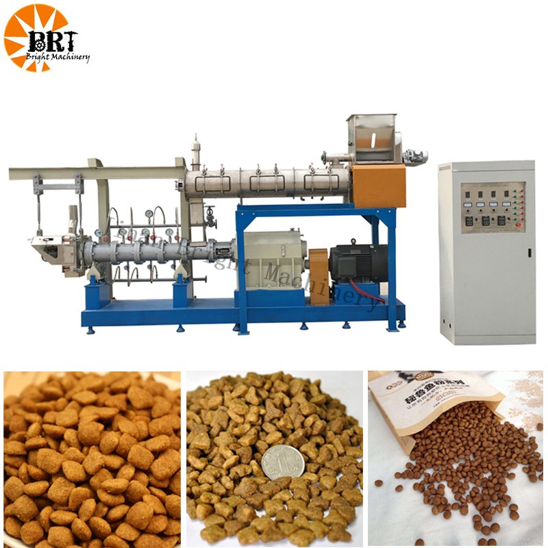 ​automatic pet food extruder machine